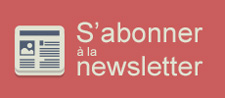 Abonnement à la newsletter